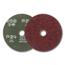 "Picture for category 4"" Abrasive Fiber Discs"