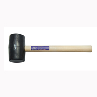 Picture of RUBBER WOODEN HANDLE 8 OZ